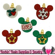 disney mickey mouse ornaments licensed buttons rockin