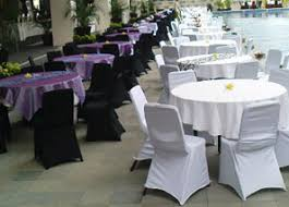 black and white chair covers chair cover duta anugrah