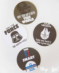 free printable star wars lunch box notes skip lou