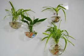 wall glass planters hanging wall planter terrarium wall fish tank