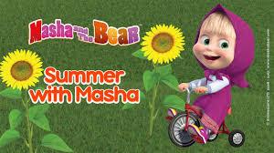 masha bear summer masha summer
