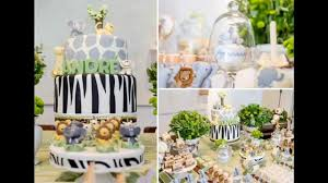 Baby Shower Decor Ideas by Cool Jungle Baby Shower Decorations Ideas Youtube