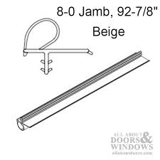 Patio Door Weatherstripping Marvin Sliding Patio Door Weatherstrip