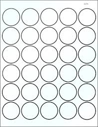 1 Inch Circle Template by 1 1 2 Inch White Glossy Laser Printable Labels 50 Sheets 4279gw