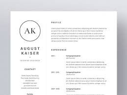 template of a resume august kaiser resume cv template resume templates creative