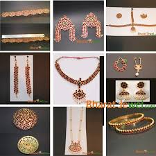 bharatanatyam jewelry set bharatjewel
