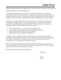 cover letter finance exles accounting finance cover letter exles templates livecareer