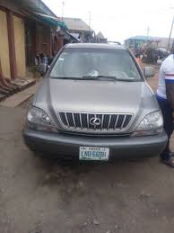 lexus used buy neatly used lexus rx 300 2002 model for 1 850m autos nigeria