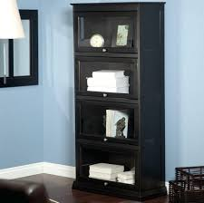 Bookcase With Doors Black Black Bookcase With Doors Poikilothermia Info