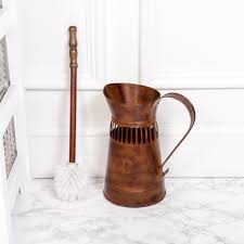 Bathroom In French by Traditional Style Toilet Brush