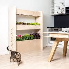 Wall Garden Kits by The Wall Farm Indoor Vertical Garden Click U0026 Grow