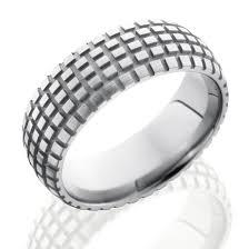 tire wedding ring titanium dirt bike tire tread ring by lashbrook designs