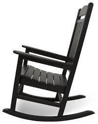Rocking Chairs Online Amazon Com Polywood R100bl Presidential Rocker Black Rocking