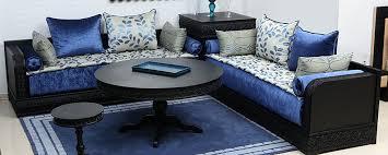 canap marocain moderne luxury salon marocain bleu nuit design canap and tapis