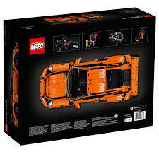 orange porsche 911 gt3 rs lego unveils the stunning 42056 technic porsche 911 gt3 rs