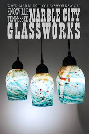 Blown Glass Pendant Lighting Amazing Blown Glass Pendant Lights Turquoise Speckled
