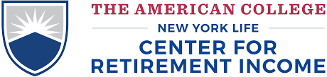 new york life help desk the american college new york life center for retirement income