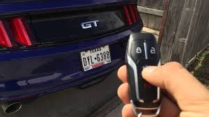 how to program ford mustang key 2015 mustang keyless features