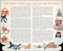 story pigs big bad wolf paper dolls