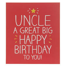 happy jackson uncle a great big birthday card temptation gifts