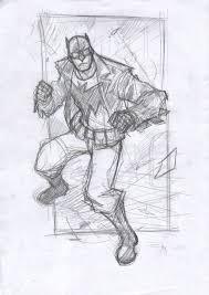 rockabilly batman sketch by denism79 on deviantart