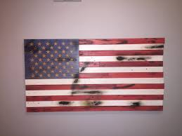 13 Stars In The United States Flag Flags 13 X 25 All American Wood Flags