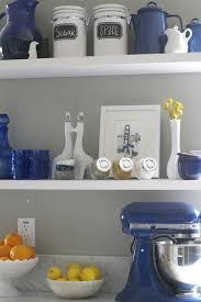 Kitchen Decor Ideas Pinterest Blue Kitchen Decor Best 25 Blue Kitchen Decor Ideas On Pinterest