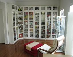 Ikea Billy Bookcase With Doors Marvelous Billy Bookcases From Ikea With Height Extensions And