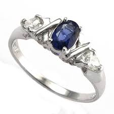 design a mothers ring anzor jewelry 14k white gold three sapphire diamond x s