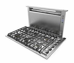 30 Gas Cooktop With Downdraft Viking 30