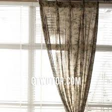 Brown Floral Curtains Cheap Affordable Living Room Dark Brown Floral Burlap Curtains