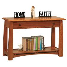 Wood Sofa Table Amish Sofa Tables Furniture Amish Sofa Tabless Amish Furniture