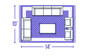 download area rug size for living room gen4congress com