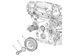repair instructions on vehicle crankshaft pulley replacement