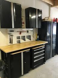 Work Bench With Storage Garage Workbench Formidable Garage Workbench With Storage