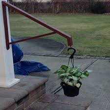 2 Step Handrail Best Grip Rail A To Z Ironworks Wrought Iron Railings Long