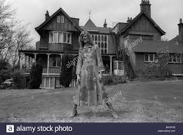 Victorian Gothic Homes David Bowie Singer Outside Haddon Hall L A Victorian Gothic