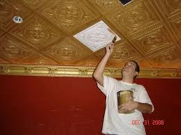 Foam Ceiling Tile by Best 25 Ceiling Tiles Painted Ideas On Pinterest Tin Tile