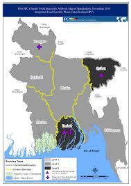 Bay Of Bengal Map Pilot Ipc Chronic Food Insecurity Analysis Map Of Bangladesh