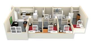2 floor apartments floor plans esu university ridge