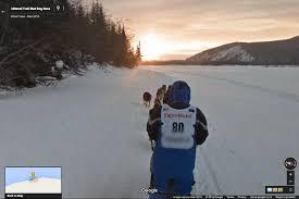 Boston Maps Google Com by Google Brings The Iditarod To Street View Techcrunch