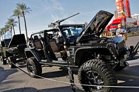 call of duty jeep sema 2011 call of duty wrangler replica photo gallery autoblog