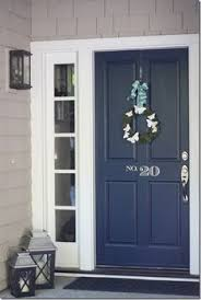 front door paint color dark grey blue front of house google