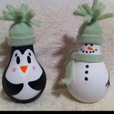 26 easy diy ornaments made from light bulbs light bulb