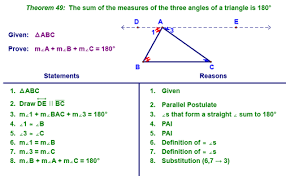 Define Interior Angle Chapter 7 Class Notes