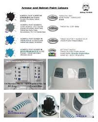 anh paint colour guide assembly mods and painting 1st