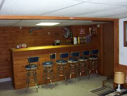 Modern Home Bar Furniture by Basement Basements Ideas With Bars For Basements Using Dark Bar