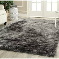 6 Square Area Rug Safavieh 3d Shag Collection Sg554c Handmade Silver Square Area Rug