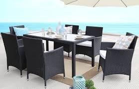 amazon com baner garden 7 pieces outdoor furniture complete patio