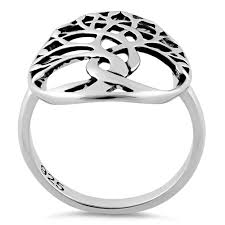 sterling silver tree of ring for sale sterling silver rings